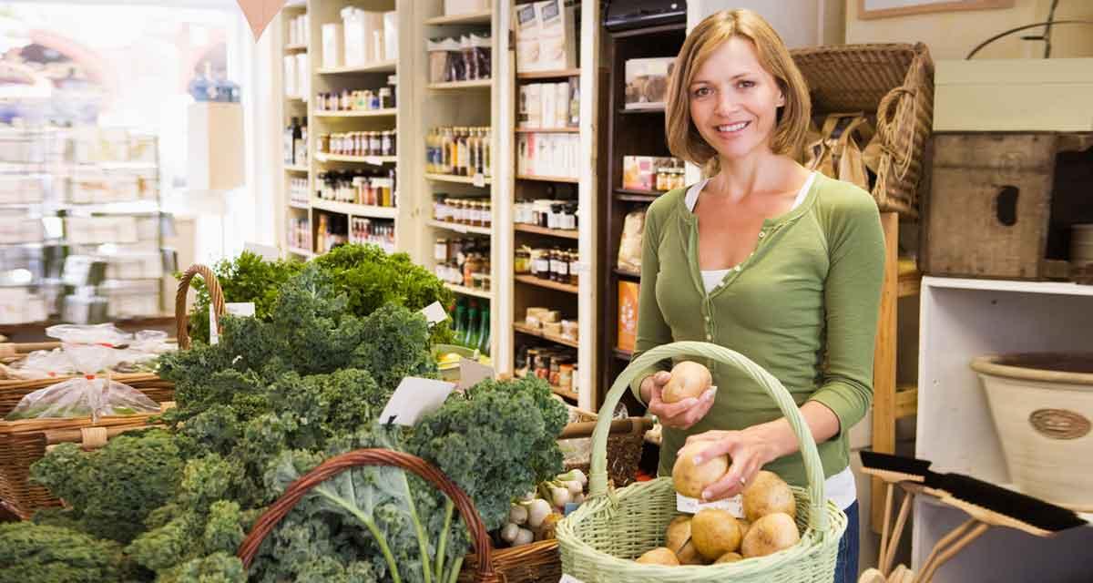 biologisch winkelen