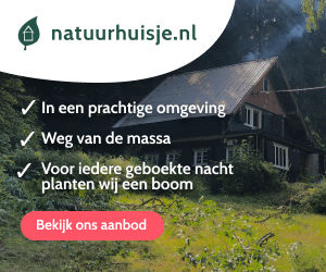 natuurhuisje duurzame vakanties