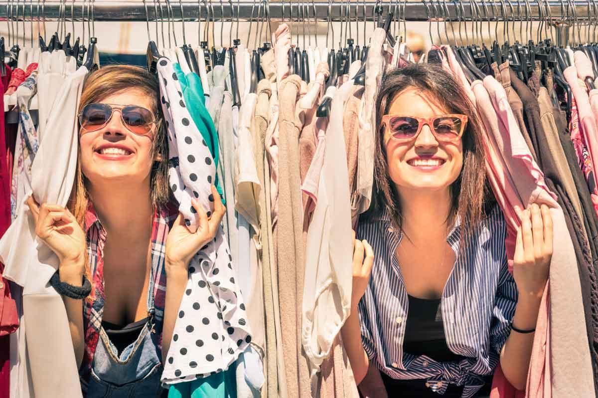 tweedehands kleding beurs