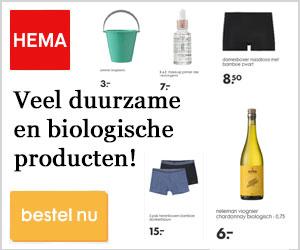 HEMA duurzame producten banner