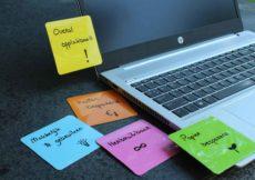 hebruikbare notitieblaadjes van nano note