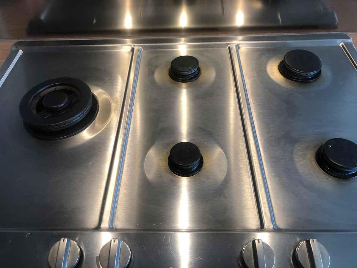 kookplaat reiniger resultaat